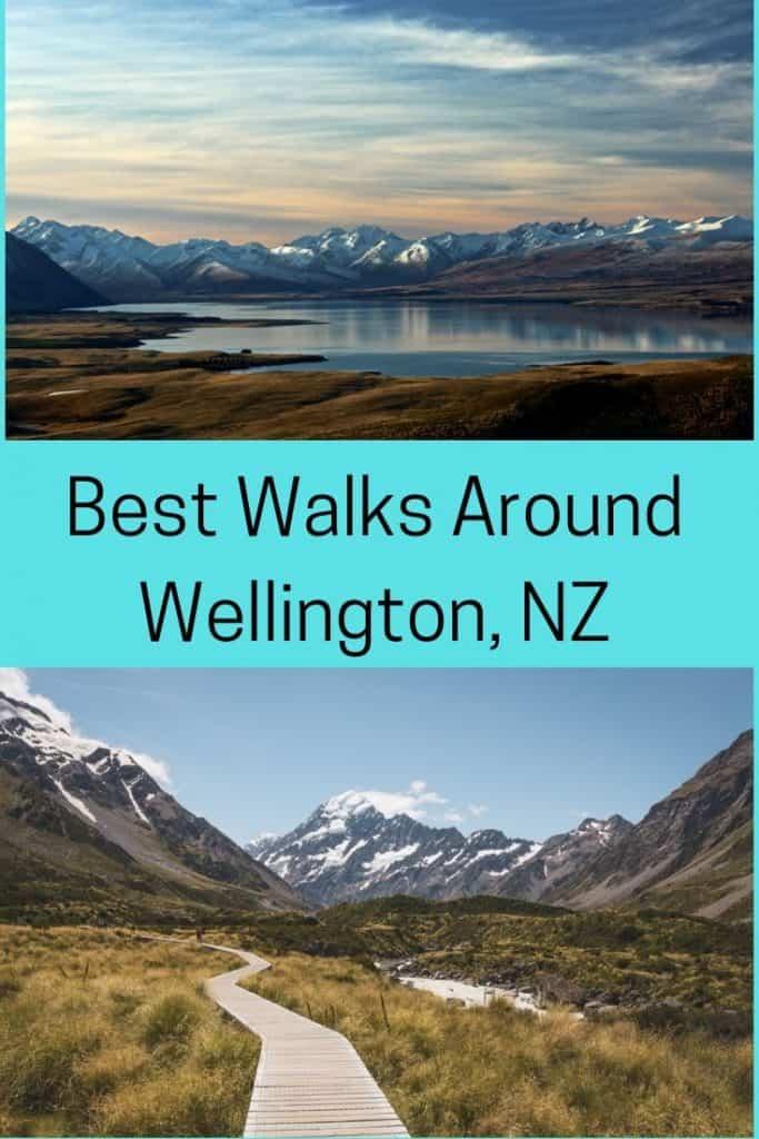 top walks in and around Wellington, NZ