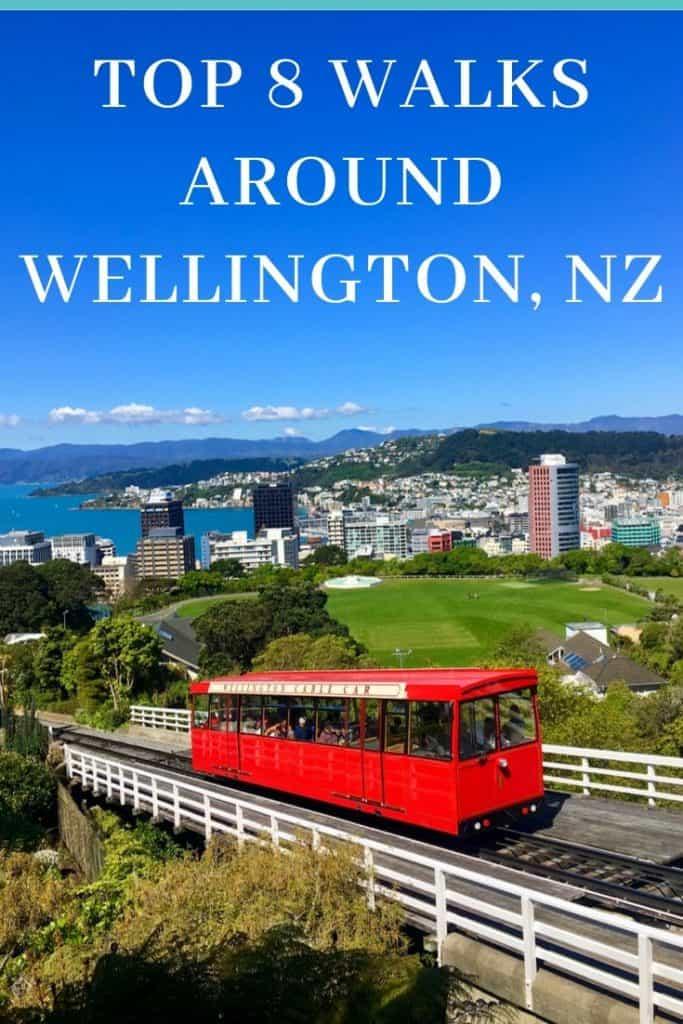 best walks in and near Wellington, NZ
