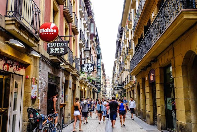 Parte Vieja, San Sebastián