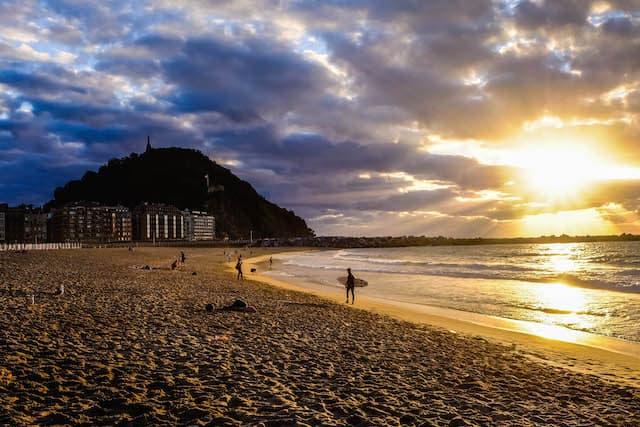 Zurriola Beach, San Sebastián