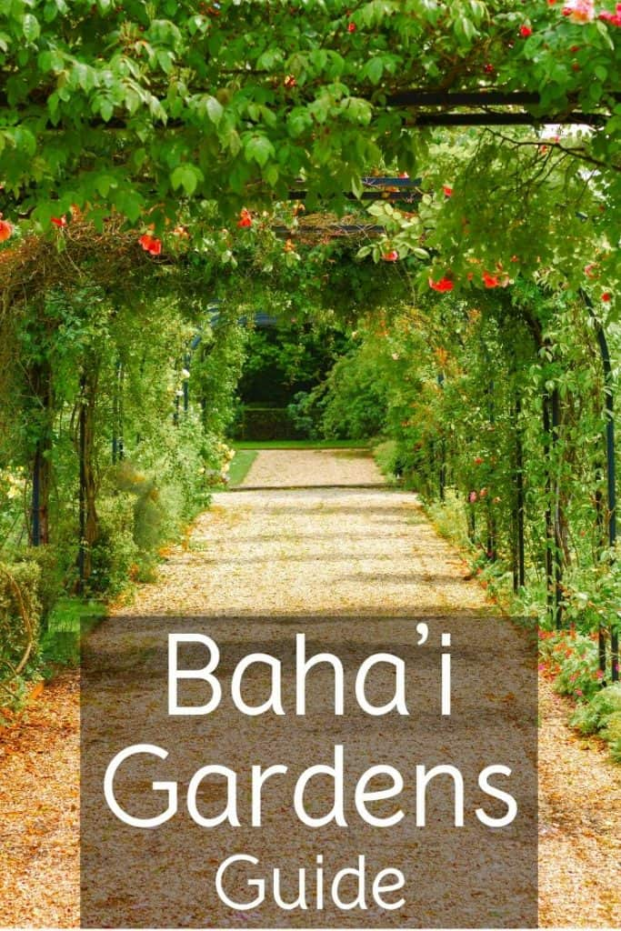 Visiting the Baha'i Gardens in Haifa