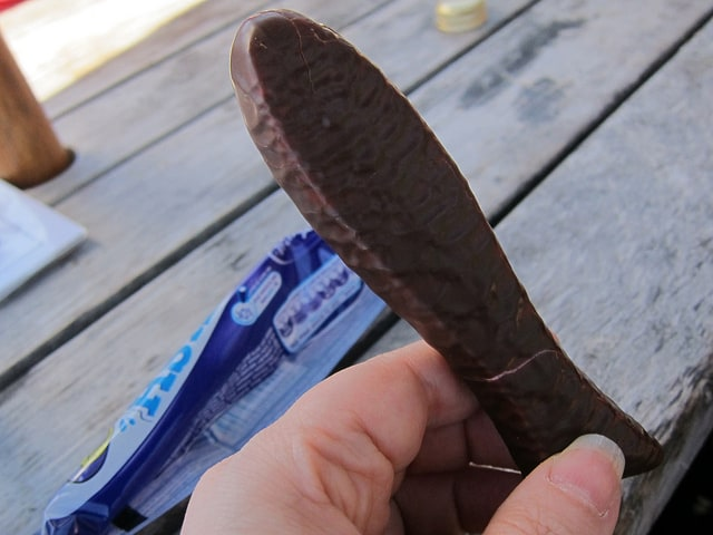 Chocolate Fish candy from New Zealand
