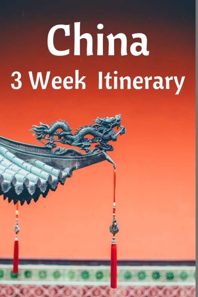 3 week china itinerary