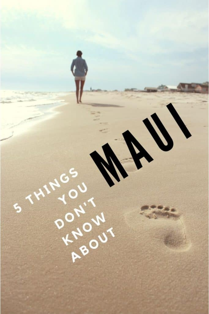 things you didn't know about maui