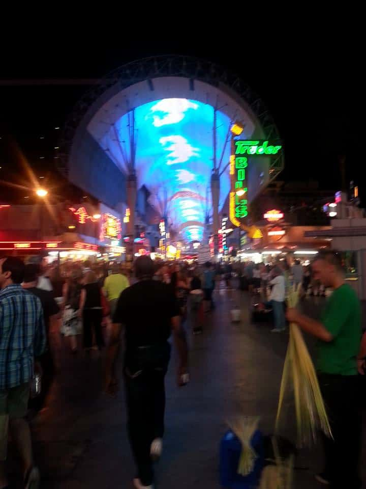 Fremont Street vs The Strip