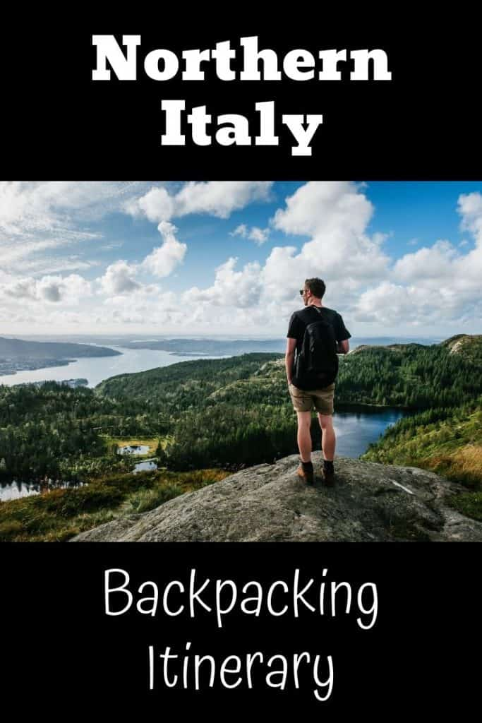 Backpacking in Northern Italy