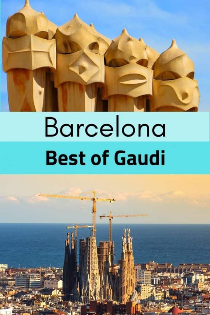 best Gaudi architecture in Barcelona