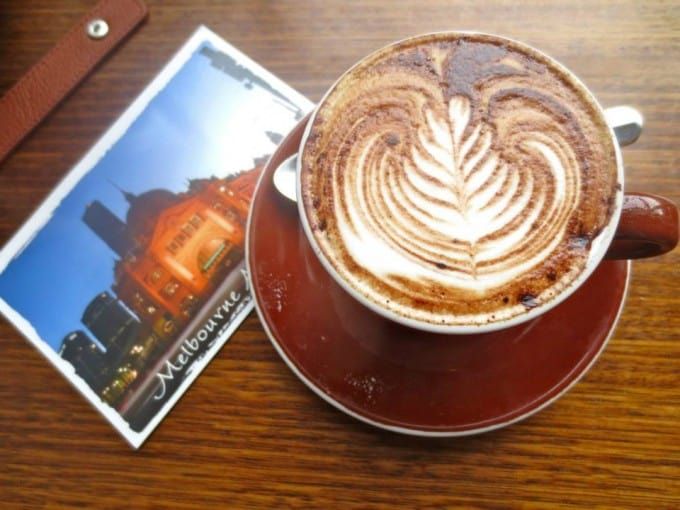 Coffee in Melbourne, Australia