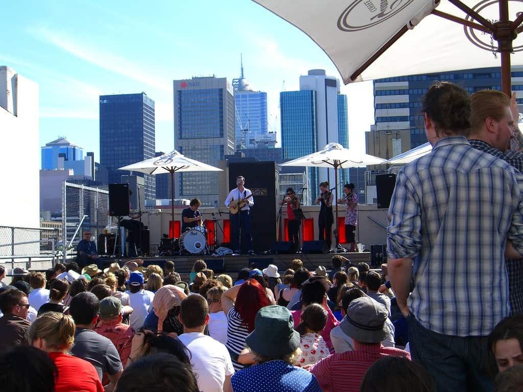 The Rooftop Bar - Melbourne, Australia
