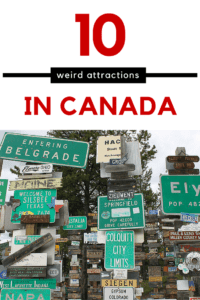 Weird Attractions