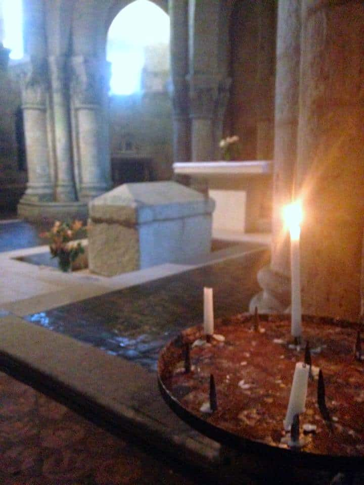 Ancient Roman Crypt in Saintes, France