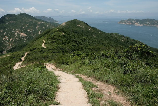 Dragon's Back Ridge hike in Hong Kong