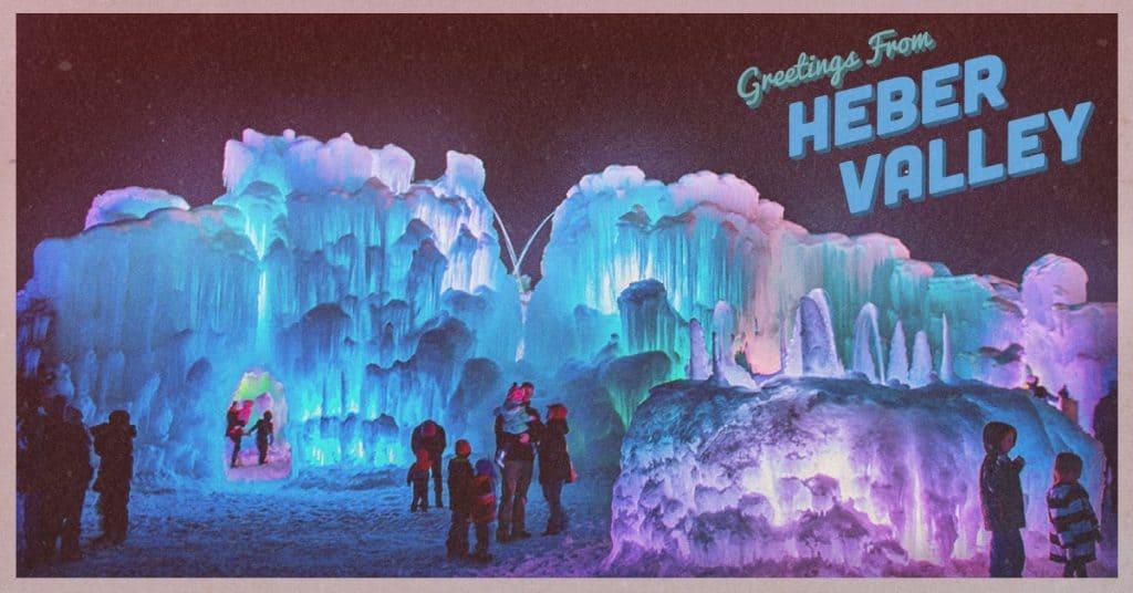Ice Castle heber valley