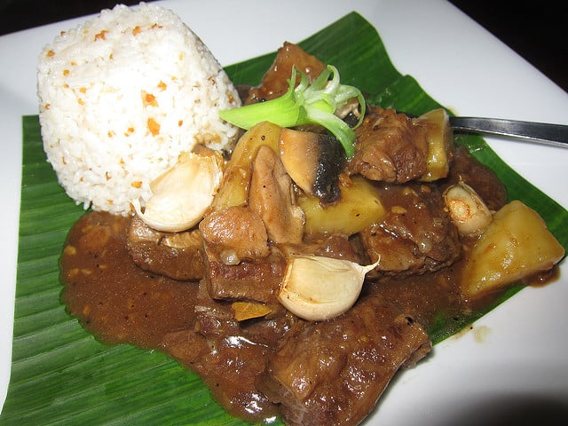 Adobo Beef in the Philippines