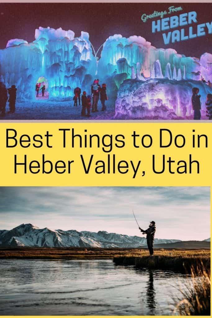 heber valley utah in summer travel