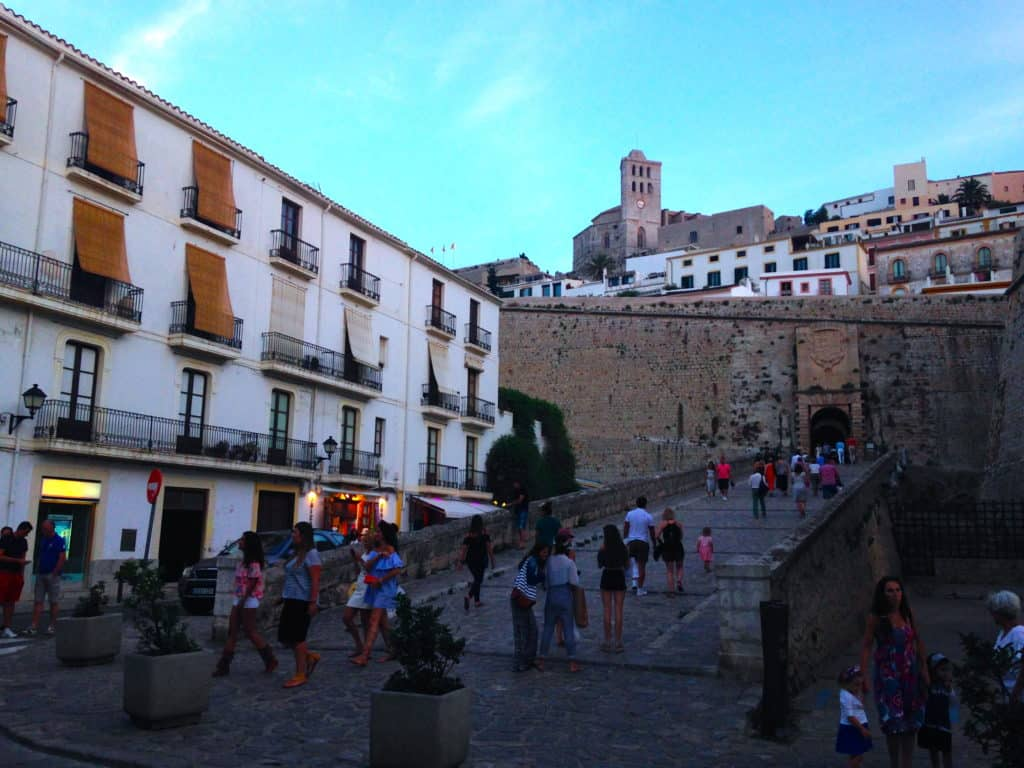 Dalt Vila. Walled cities have a special place in my heart.