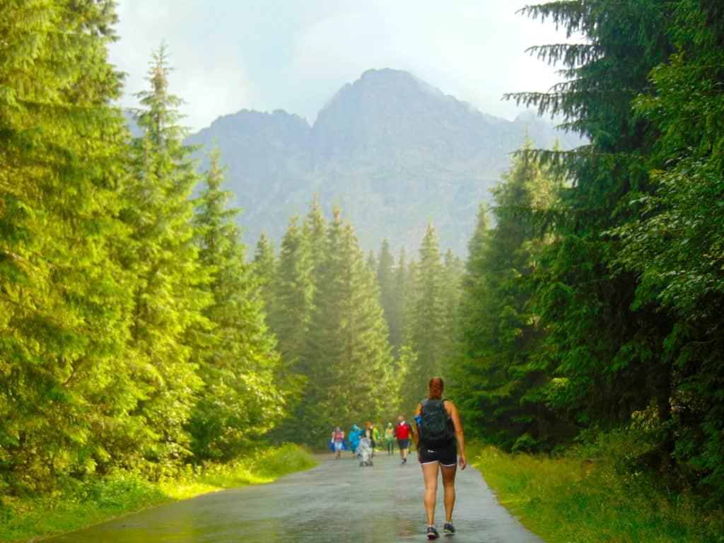 Hike to Morskie Oko, Poland