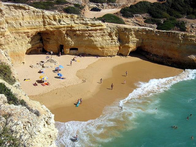 best beaches in the Algarve