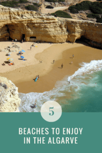 five best beaches in the Algarve, Portugal