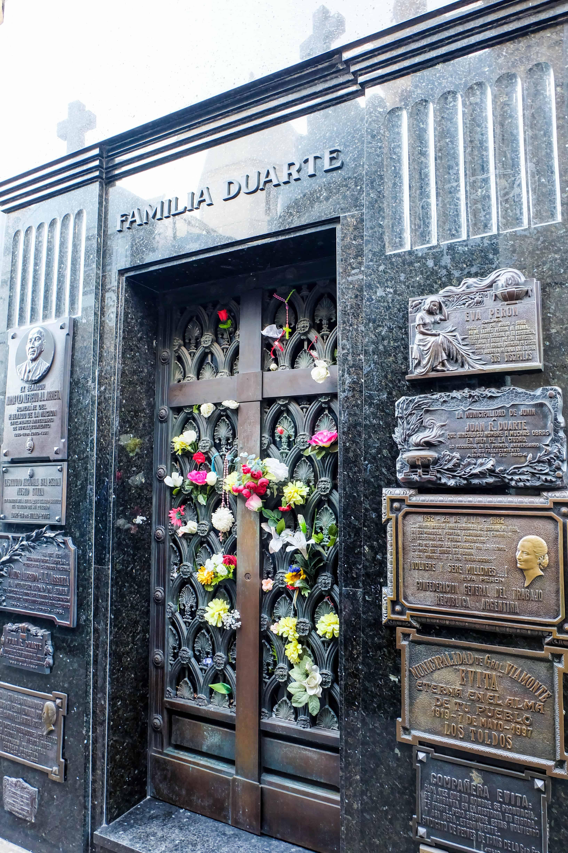 Eva Perón's Mausoleum