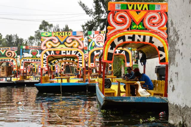 Mexico City Xochimilco Boats-20