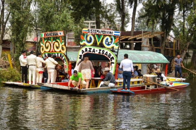 Mexico City Xochimilco Boats-55