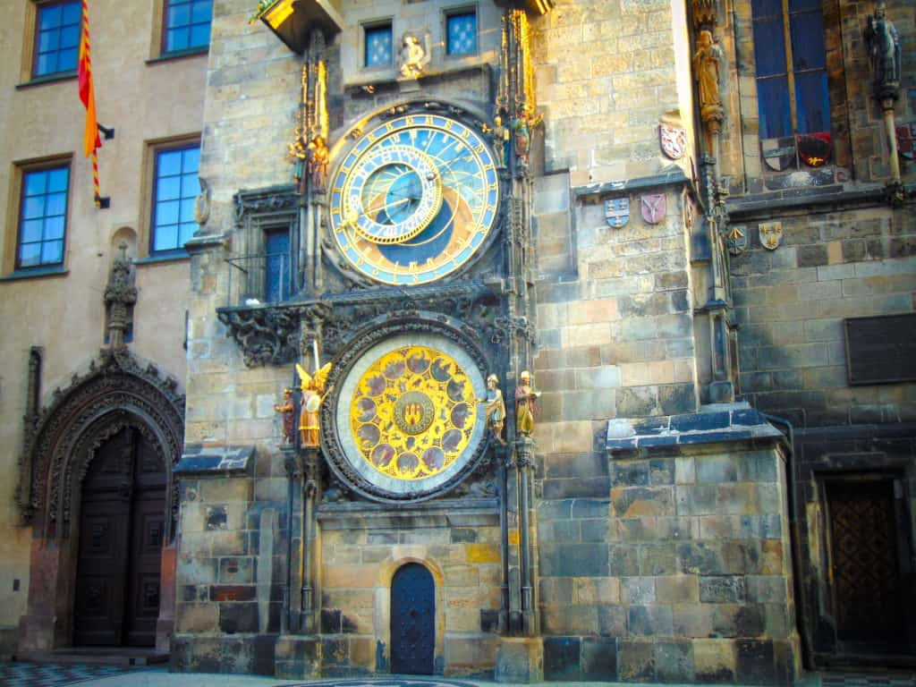 On the Sandeman tour, you'll hear lots about history, culture, and this clock!