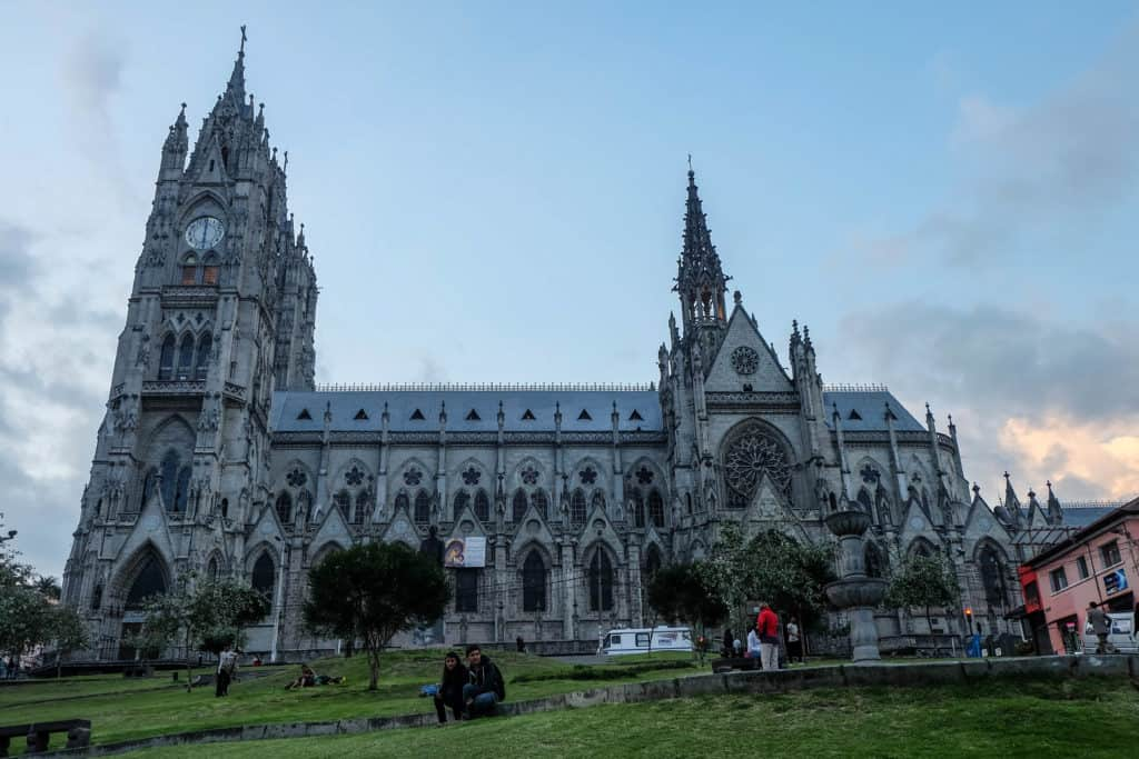 Lost in Quito