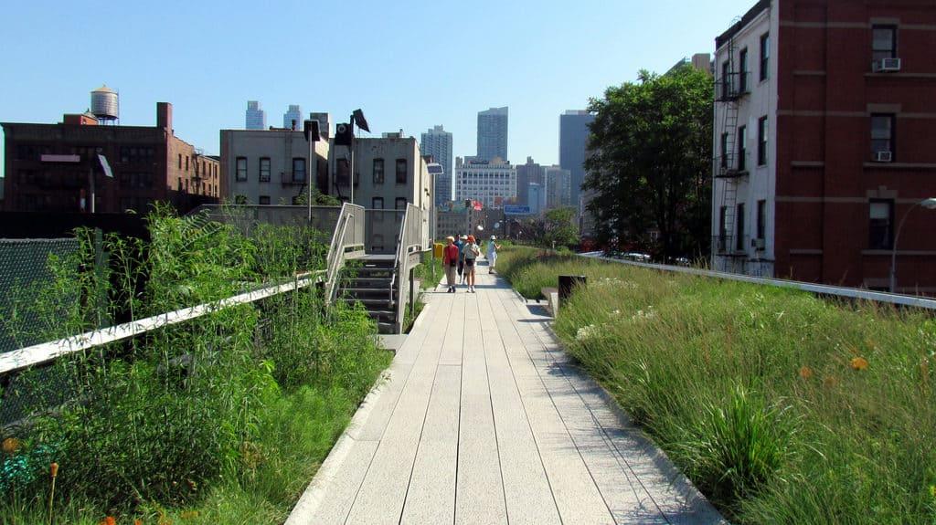 The High Line photo via FLIKR