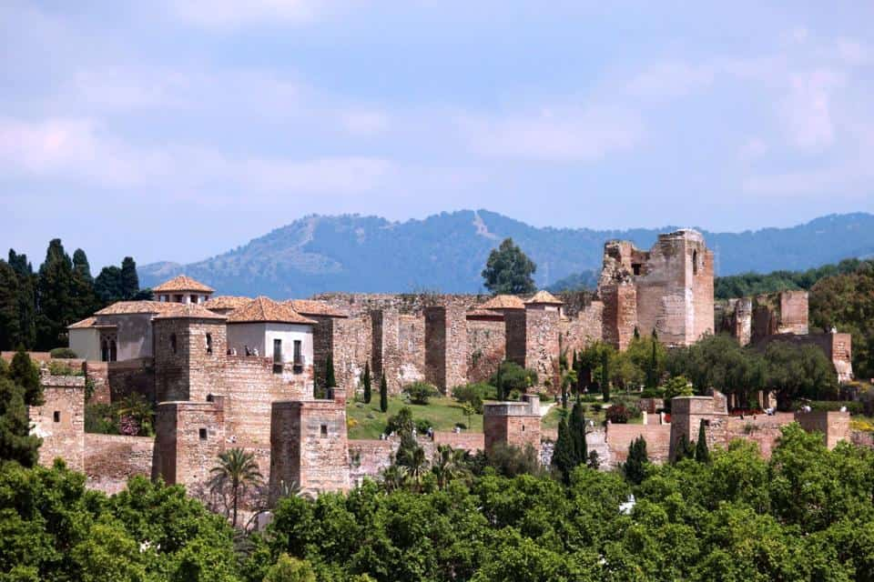 The Alcazaba of Malaga