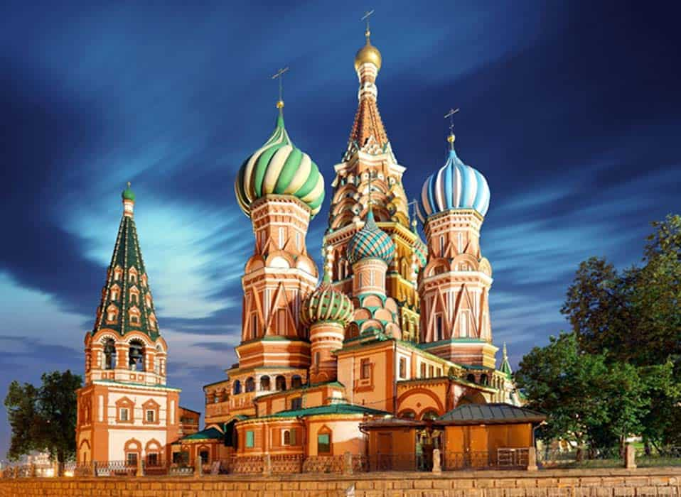 things to see in moscow