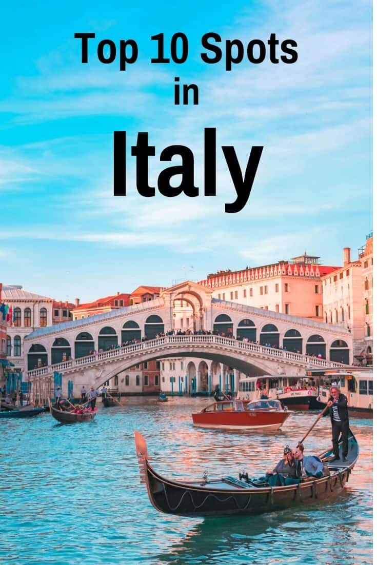 The 20 Top Places To Visit In Italy