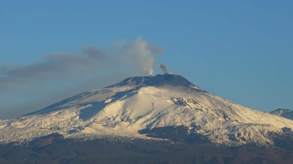 Hiking in Sicily on Mount Etna