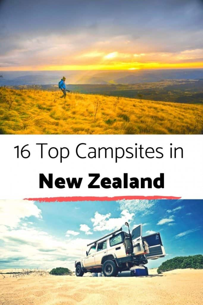 16 top campgrounds in NZ