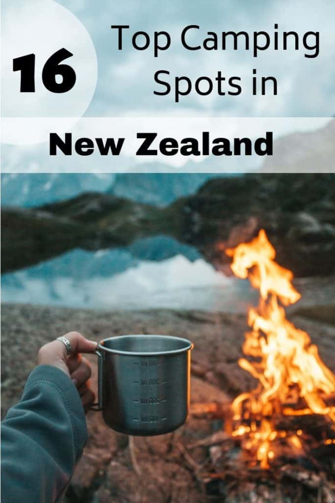 16 top camp locations in New Zealand