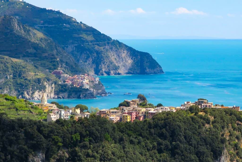 Hiking around Corniglia