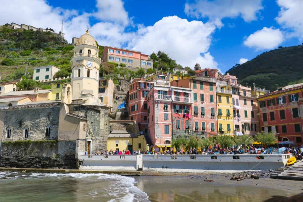 Hiking around Vernazza