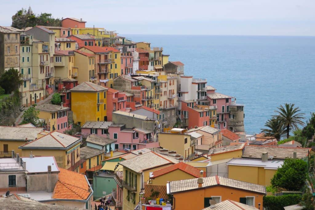 Hiking around Riomaggiore
