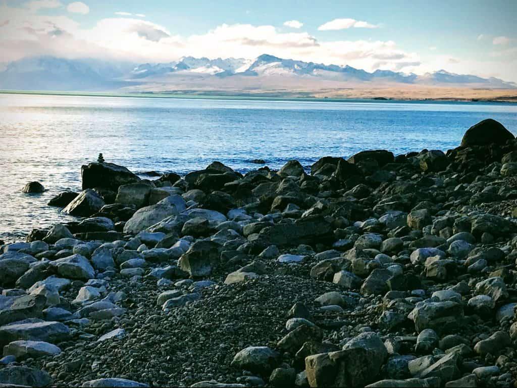 campervan New Zealand: Lake Pukaki Reserve