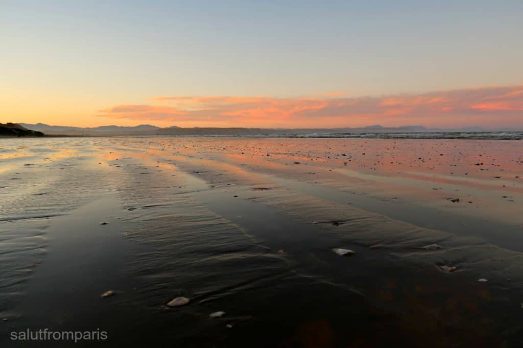 best campervan sites in New Zealand: Marfells Beach