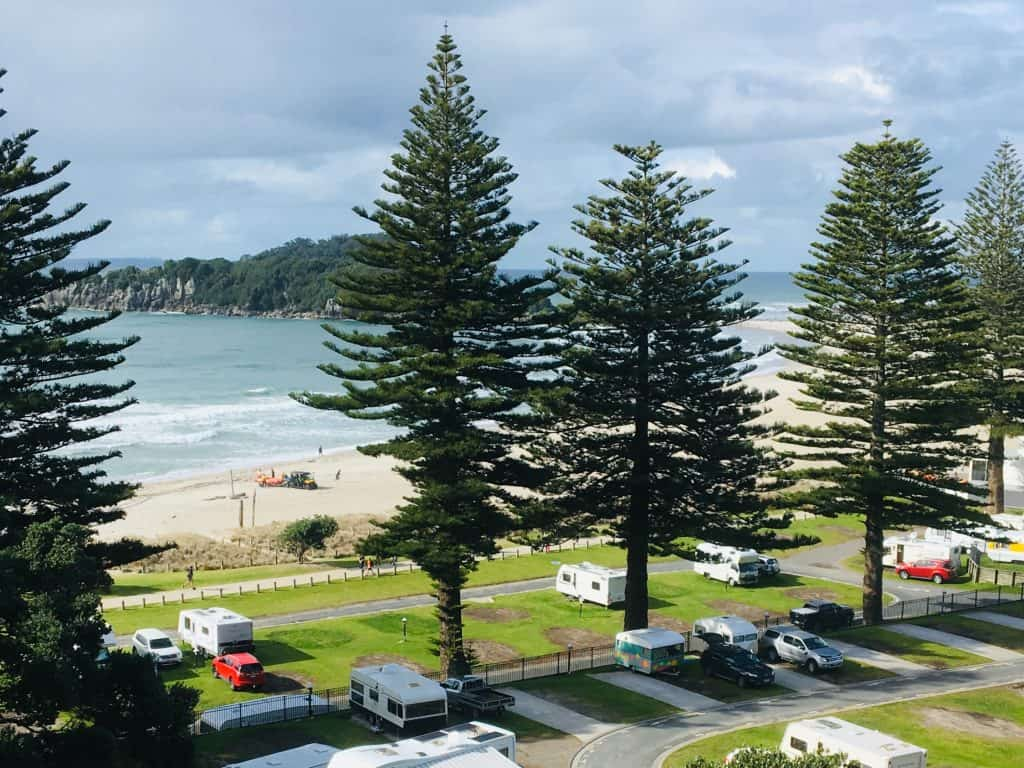 Mount Maunganui, New Zealand for campervan sites in new zealand