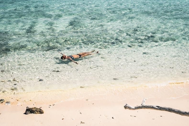 Nam Du Island beach