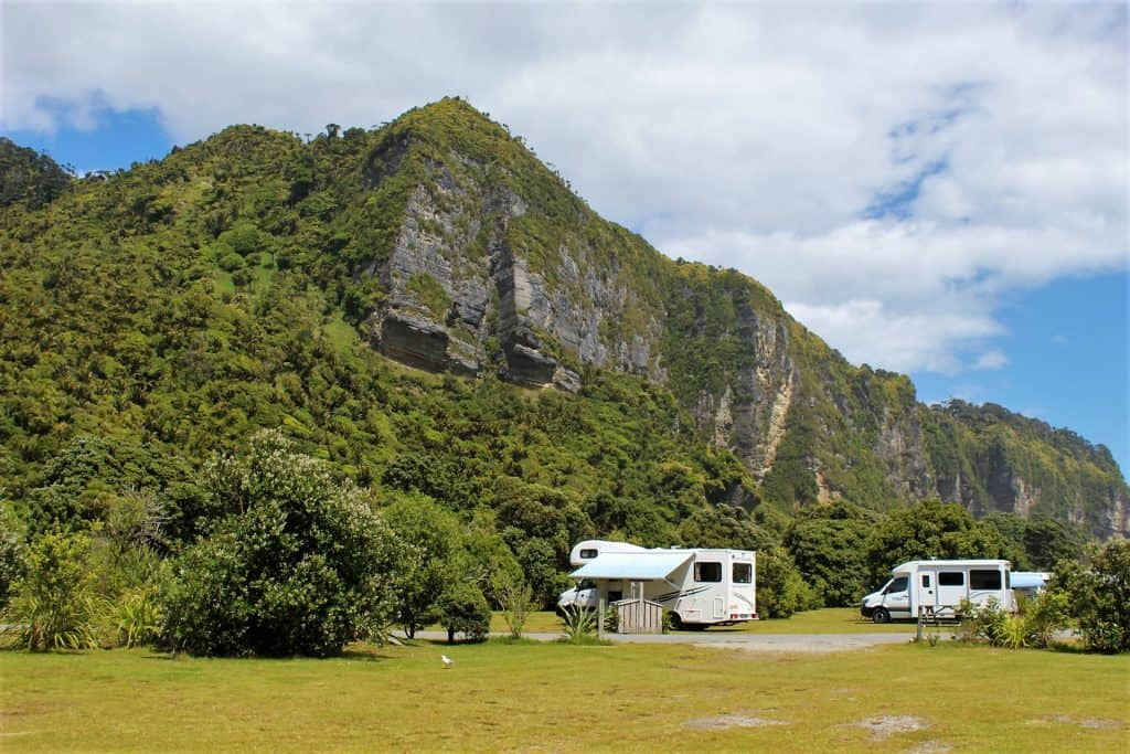 Punakaiki Beach Camp Spot