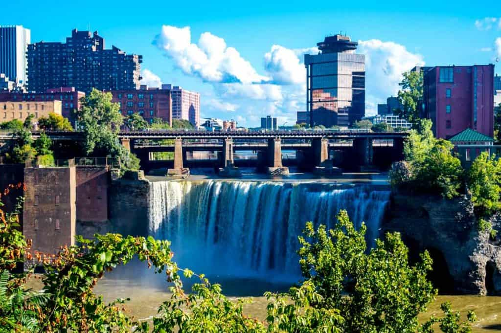 Fun things to do in Rodchester NY: High Falls, Rochester