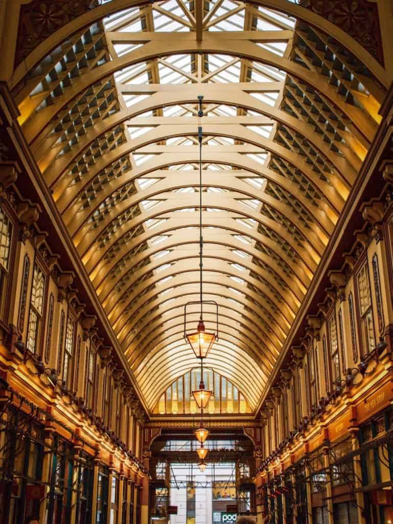 LEADENHALL MARKET in London England