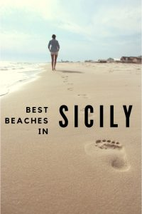 Best Beaches in Sicily pin