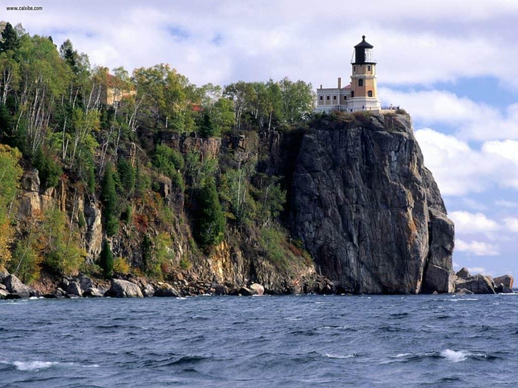 Split Rock Lighthouse near Duluth, MN
