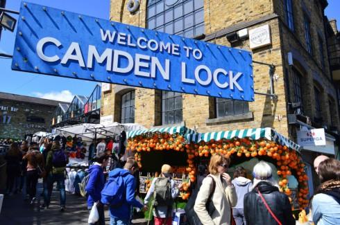 Camden Lock street Market