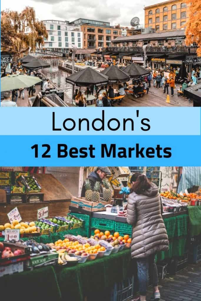 12 best markets in London