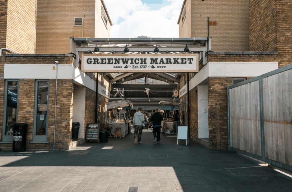 best Markets in London - Greenwich Market
